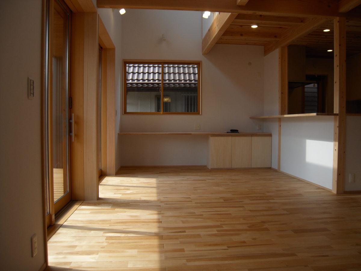 草津の木の家