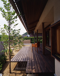 Bio森の家・デッキ