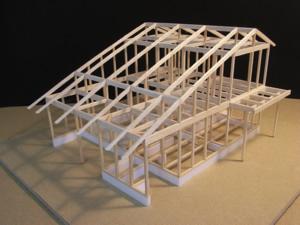 Bio森の家・構造